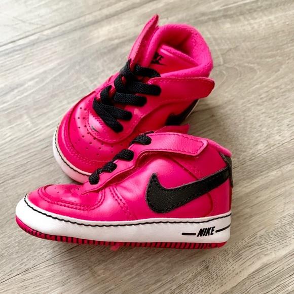 Nike Baby Girl 3c Soft Tennis Shoes